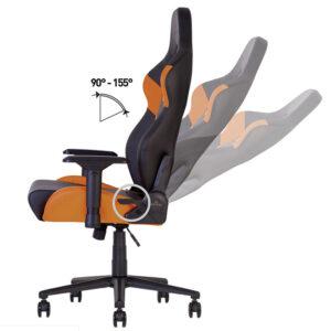 Регулювання кута нахилу спинки в ігровому кріслі
