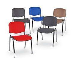 Лінійка стільців для відвідувачів ISO – зручно, надійно, компактно!