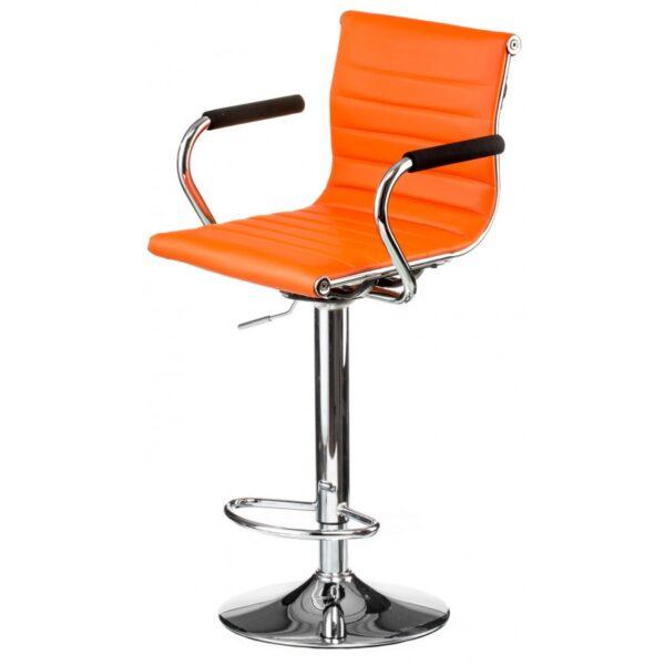 Стілець Bar orange plate (E1137)